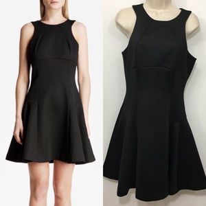 Ted Baker fit and flare textured skater mini dress